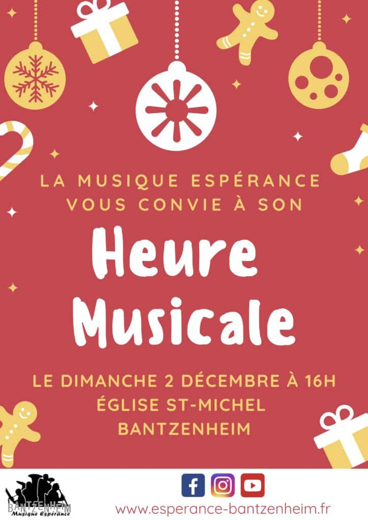 Affiche Heure Musicale 2018