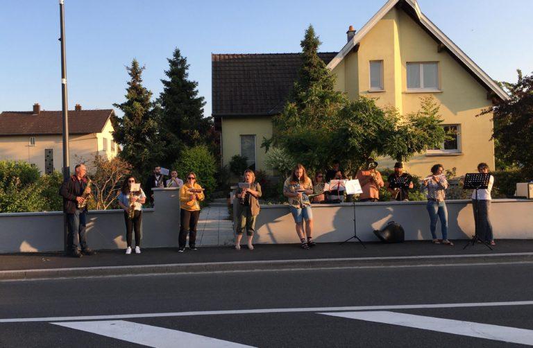 Musiciens dans la rue Bantzenheim