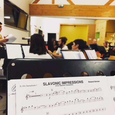 Slavonic Impressions - Programme Concert de Printemps 2019